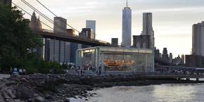 ブルックリン・ブリッジとメリーゴーランド