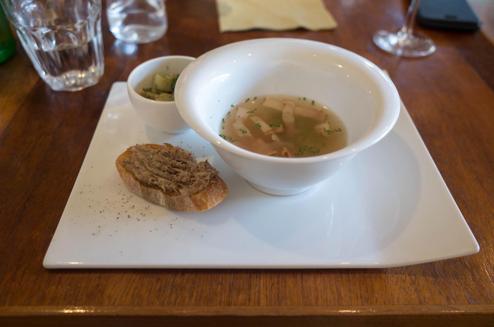 前菜とスープ
