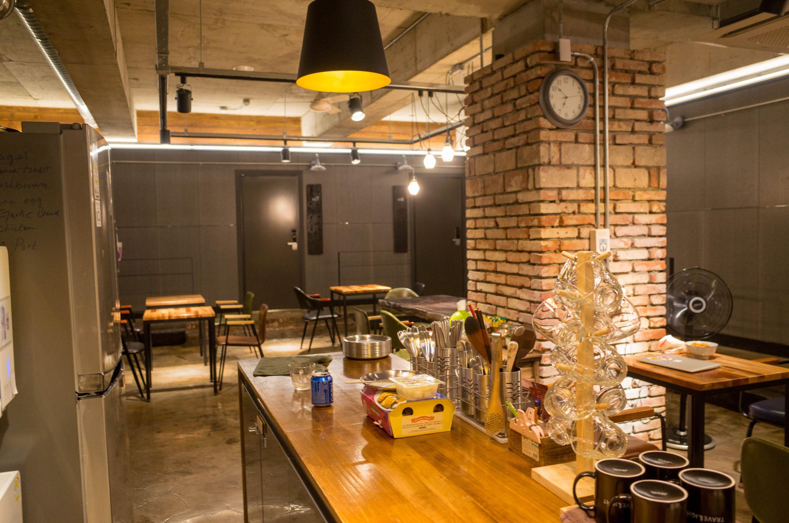 共有のキッチン